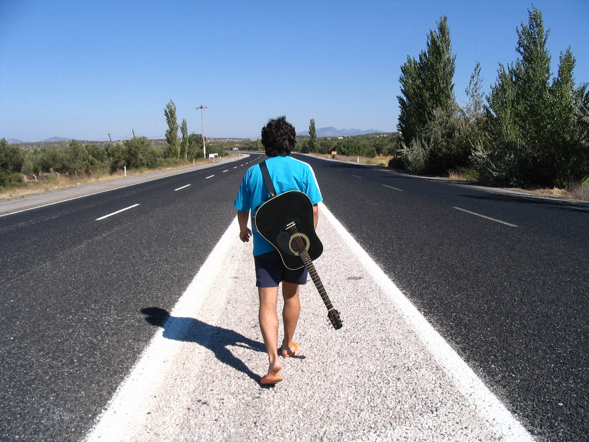Walking Down the Road Guitar