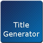 Song Title Generator