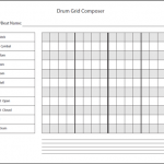 Download Drum Grid Composer PDF Worksheet