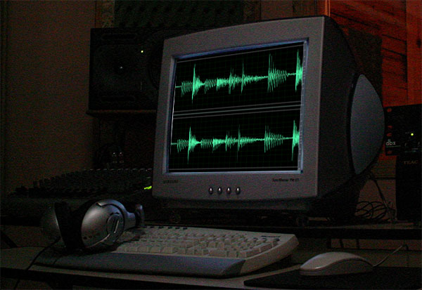 Digital Audio Workstation Computer Studio