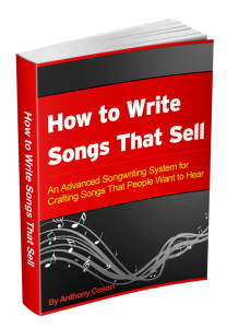 How to Write Song That Sell by Anthony Ceseri