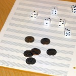 Compose Music Dice Game