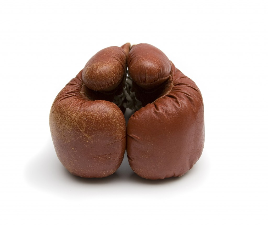 Boxing Glove Dont Beat Yourself Up