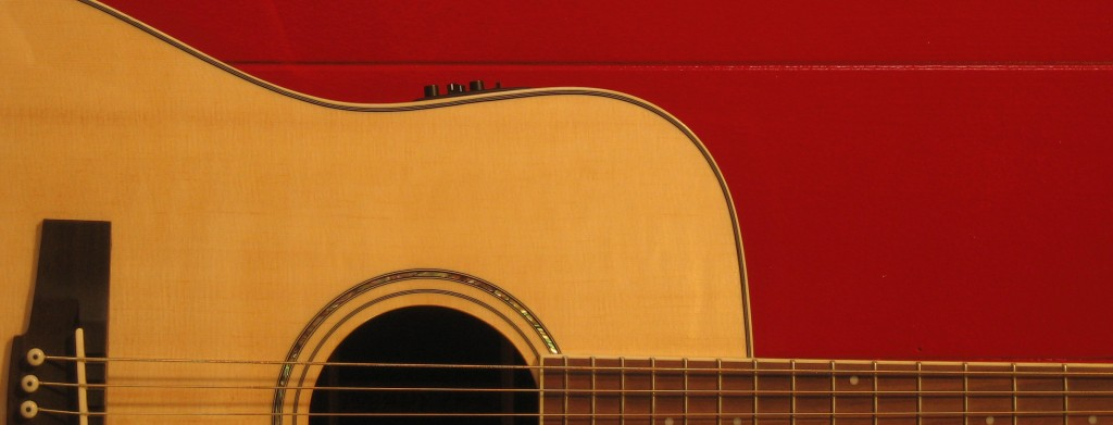 Red Guitar Build Songs songwriting tools