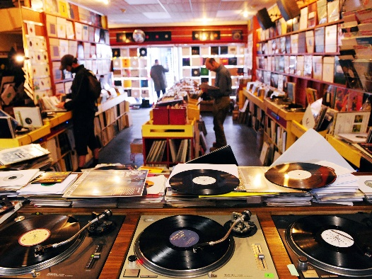 Record Store Vinyl