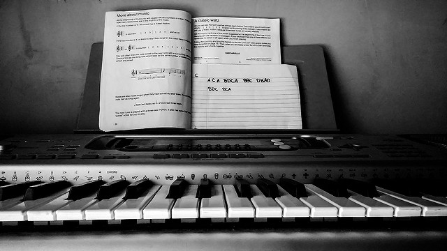 Songwriting Heart Piano