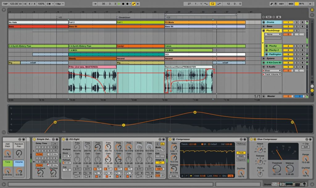 Ableton Live Suite Songwriting Software