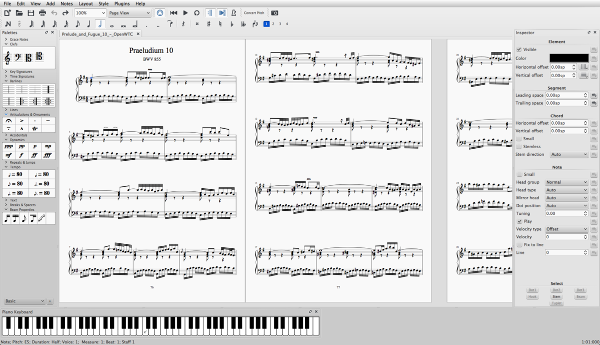 MuseScore Songwriting Software