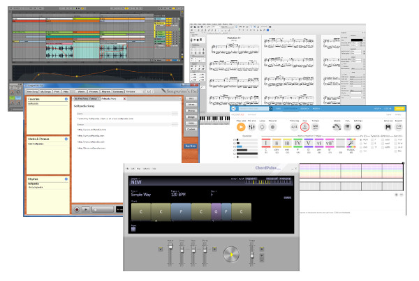 5 Best Songwriting Software Ableton, Chordpulse, HookPad, Songwriter's Pad, Musescore