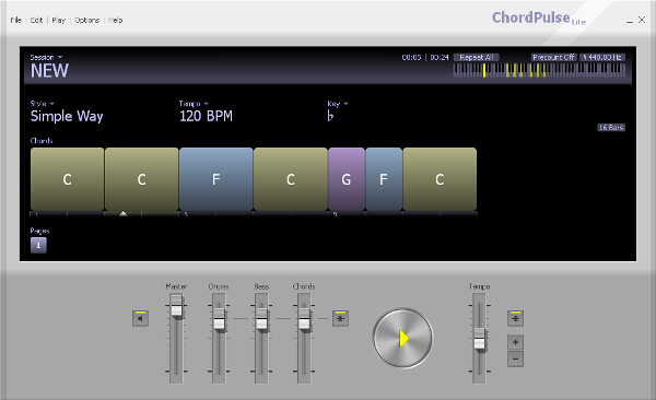 ChordPulse Songwriting Software