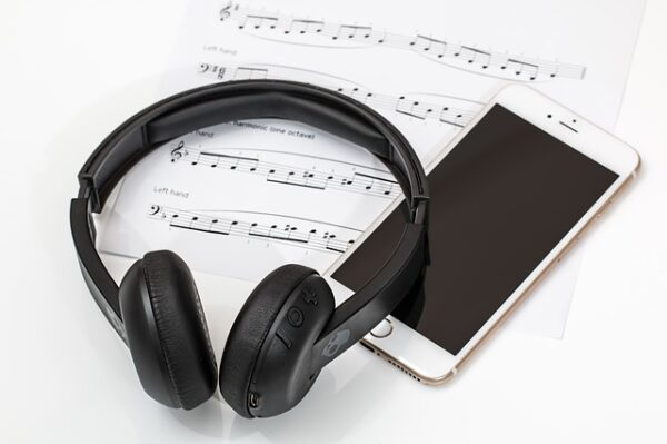 Songwriting Tips Begin Writing Songs Headphones Smartphone Music