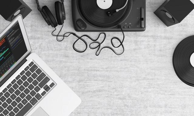 Movie Score Soundtrack Laptop Headphones