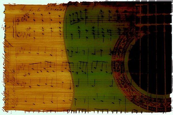Starting Your Music Career Guitar notation
